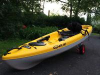 Kayak de Pêche Elie Gulf 100xe