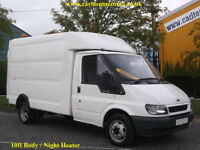 2006/06 Ford Transit 350m Box Luton Van [ Ex Mobile Workshop ] Low Miles RWD