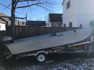 16' BOAT/TRAILER FOR SALE