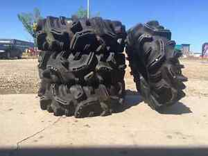 32 Inch Mudder In law tires and MSA Rims