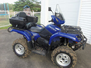 Yamaha Grizzly 2004 4x4 full lock