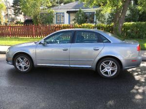 Audi A4 S Line 2008 2,0L 155,000km  aucune rouille