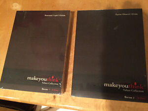 """""""MAKE YOU THINK"""" DVD SERIES NEW IN PACKAGE"""