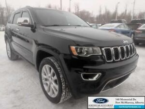 2017 Jeep Grand Cherokee Limited  |3.6L|Rem Start|Power Sunroof|