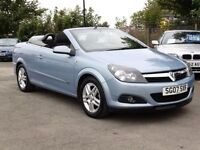 Vauxhall Astra 1.8 2007 Twin Top Sport, Blue 63 000 Miles, 6 Months AA Warranty