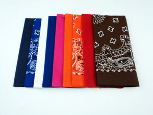NEW - $5 for 9 Bandannas (Assorted)