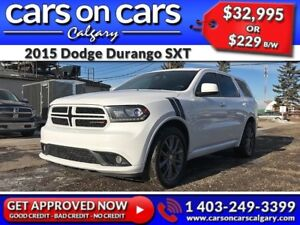 2015 Dodge Durango SXT w/Leather, BlueTooth, Satellite Radio $22