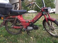 Puch moped Barn Find