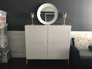 Beautiful White Dining Cabinet!