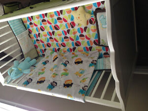 Crib in good condition with matrice included St. John's Newfoundland image 3