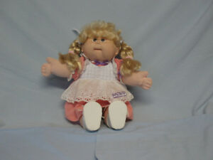 CABBAGE PATCH DOLL - PINK DRESS