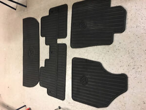 Set All Weather Heavy Duty Floor Mats for Buick Enclave ($100)