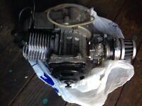 Minimoto engine and exhaust