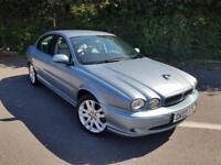 JAGUAR X TYPE V6 SPORT 2.5 AWD BLUE 4 DOOR SALOON PETROL MANUAL 2003