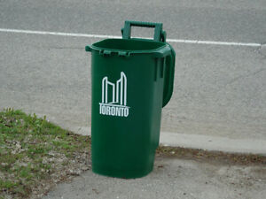 Curbside Green Organics Recycling Bin/Container on Wheels