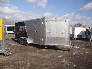 Miska Predator Enclosed Snowmobile Trailers