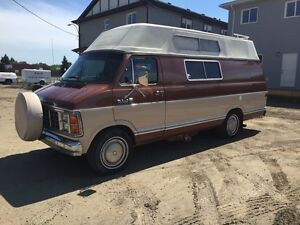 1983 DODGE D250 CAMPERVAN READY TO GO