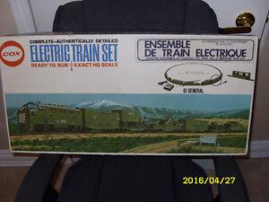 Train électrique Cox ensemble complet 1974