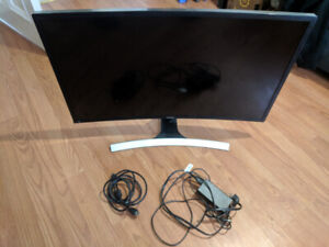 "SAMSUNG 31.5"" Curved Monitor 4ms 60hz 1920x1080"