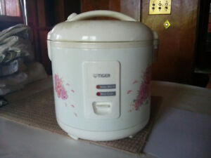 Tiger rice cooker/warmer for 10 cups $99.99