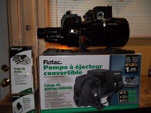 Pump/pompe à eau 3/4 HP FLOTEC 16 gallons/mi