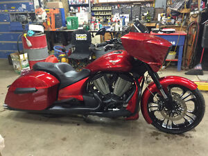 2013 Victory Cross country Bagger