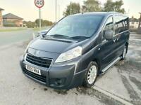 13 2013 Peugeot Expert 2.0HDi 163bhp Tepee L1 5/6 Seats auto Comfort disabled ac
