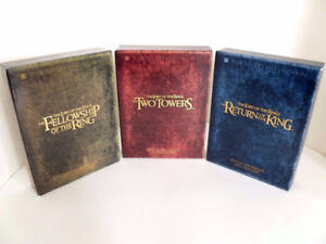 3 - Lord of the  Rings DVD Box Sets (extended versions)