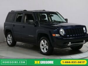 2013 Jeep Patriot LIMITED 4WD AUTO A/C CUIR MAGS BLUETOOTH