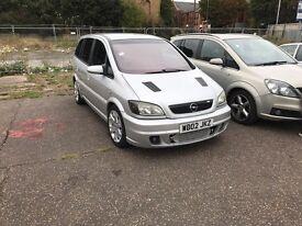 Vauxhall zafira gsi 7 seats