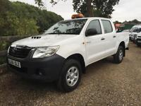 TOYOTA HI LUX HL2 4X4 DOUBLE CAB PICK UP 61 REG