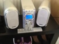 Hitachi stereo CD player Radio Remote control Twin speakers Good working condition Madeley, Telford