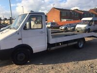 IVECO -FORD RECOVERY TRUCK 2.5 TWIN WHEEL MOT EXCEMPT 5 TON ELECTRIC WINCH