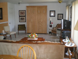 Suite  completely furnished
