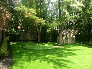 Artificial Turf Grass, installed with 8 year warranty