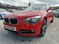 2014 64 BMW 1 SERIES 1.6 114D SPORT 5D 94 DIESEL+2 KEYS+SERVICE HISTORY+DAB+RED+