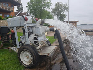 "4"" DIESEL INDUSTRIAL TRASH PUMP"