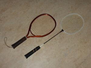 Racquetball and Badminton rackets