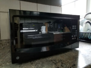 GE 1100 watt 1.1 cubic feet countertop microwave - only $75