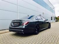 2014 14 Mercedes-Benz S63 L AMG 5.5 EXECUTIVE ( 585bhp ) MCT + BLACK + 3 TVs