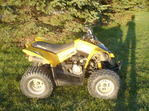 2008 can-am DS90 4-stroke with reverse