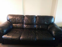 Leather Sofa, Loveseat, and Relining - Everything Must Go