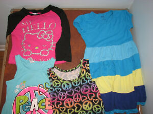 size 10/12 shirt, tanks, dress