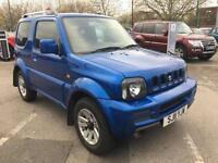 2011 Suzuki Jimny SZ4 Petrol blue Manual
