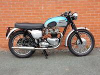 TRIUMPH BONNEVILLE 1960 650cc Matching Numbers