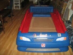 Twin Car Bed  With New mattress