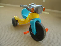 Tricycle with music