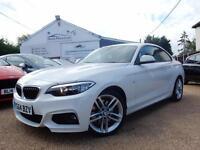 2014 64 BMW 2 Series 2.0 228i M Sport 2dr (start/stop) - rac dealer