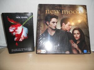 BRAND NEW GAMES NEW MOON AND TWILIGHT SCENE IT AND BOOK