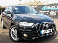 2014 AUDI Q3 2.0 TDI S LINE 5DR 6 SPEED MANUAL DIESEL ESTATE DIESEL